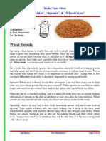 Wheat Water Acidophilus
