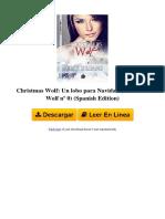 b00qfs6zrs Christmas Wolf Un Lobo Para Navidad American Wolf n 0 Spanish Edition by Kelly Dreams