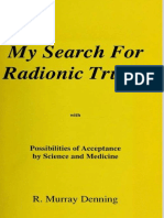 MY SEARCH FOR RADIONIC TRUTHS - R. Murray Denning.pdf