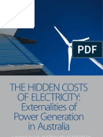 ATSE Hidden Costs Electricity report
