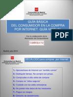 GUÍA BÁSICA DEL CONSUMIDOR EN LA COMPRA POR INTERNET. GUÍA VIRTUAL