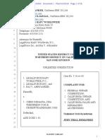 Complaint, LegalForce v. Chris DeMassa (TMExpress.com & UrgentTrademark.com)