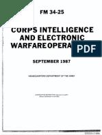 FM 34-25 Corps Intelligence