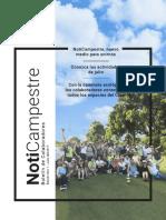 NotiCampestre Edición Nro 1. Julio del 2017