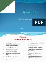 Aula Bioestatistica