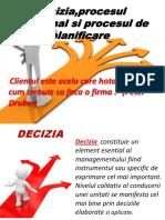 Deciziaprocesul Decizional Si Procesul de Planificare 1
