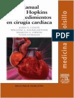 Manual Johns Hopkins de Procedimientos en Cirugia Cardiaca 2ª Edicion