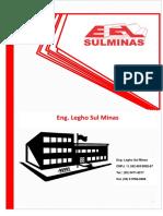 Apresentação Eng Legho Sul Minas