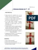 0302 Columnas Hidrantes Standard
