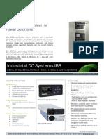 Datasheet IBB Systemas