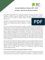 ARTÍSTICA Documento de Apoyo EAV2018
