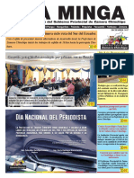 La Minga Informativo Diciembre 2017 #ZamoraChinchipe