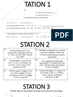 final exam station review