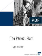 The Perfect Plant in SAP PM