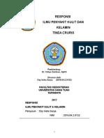 Case Report (Tinea Kruris)