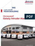 Honeywell Galaxy Intruder Alarm