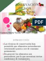 Clase 1 Conservación de Los Alimentos