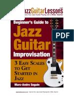 Beginner s Guide to Jazz Guitar Improv