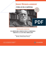 Hinkelammert, F. J. (2017) La Vida o El Capital. El Grito Del Sujeto Vivo y Corporal Frente a La Ley Del Mercado. Antología Esencial. CABA. CLACSO