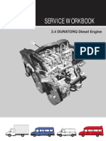 LDV Convoy Duratorq Engine Workbook