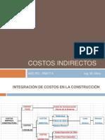 Gestion de Proyectos 2 - Costos Indirectos