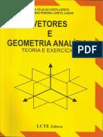 Vetores e Geometria Analítica-Loreto 4ed.