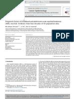 1 - Prognostic Factors of Childhood and Adolescent Acute Myeloid Leukemia