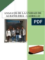 Ensayos de Laboratorio-Albañileria