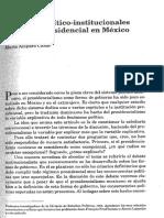 Las bases político-institucionales del poder presidencial en México - María Amparo Casar.pdf