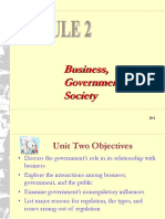 BGS Lecture Module 2 - Role of Government