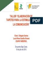 Atencion Temprana Tapetes de Comunicacion
