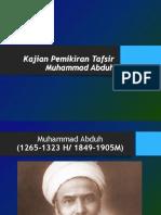 Sejarah TAfsir Muhammad Abduh