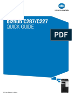 Bizhub c287 c227 Quick Guide en 1 1 0