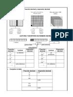 Fracción Decimal y Expresión Decimal