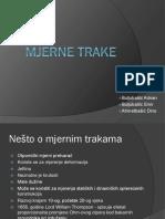 MJERNE-TRAKE