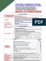 """Технички извештај са тренинга на тему """"Савремени приступи у развоју организација и развоју институција»"""
