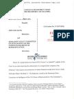 Memorandum Opinion signed by Judge Richard J. Leon denying Plaintiff's (Fusion GPS) Motion  for Preliminary Injunction