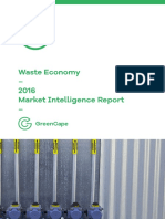 GreenCape Waste MIR 2016