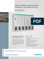 Inversor Sinvert 2000 MS TL Siemens