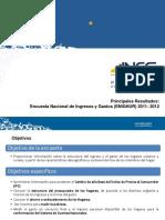 Ingresos y Gastos de Los Ecuatorianos-InEC