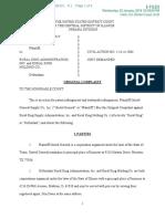 United General Supply v. Rural King Adminstration - Complaint