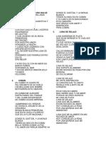 Letra de 10 Canciones Guatemaltecas