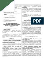 Ley 30711 Ley que establece medidas complementarias para la promoción del Acceso a la propiedad formal