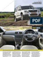 Autocar India September 2010 - First Drive_Skoda Yeti