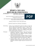 transfusi darah PERMEN KEMENKES Nomor 83 Tahun 2014 (kemenkes no 83 th 2014).pdf