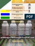 Toxicidad de Los Herbicidas