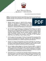 RES 0660-2016-JNE - Proclamación Congreso EG 2016