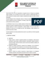 5 Reglamento Interno de Seguridad y Salud en El Trabajo