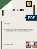 FELICIDAD Miguel Arellano