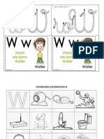 Vocabulario Ilustradoletra w